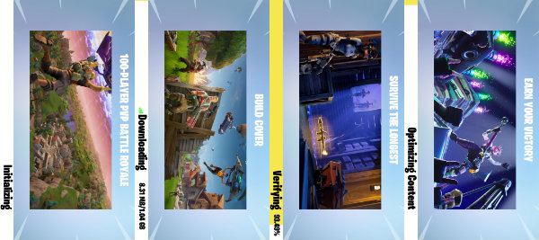 Fortnite Android Loading