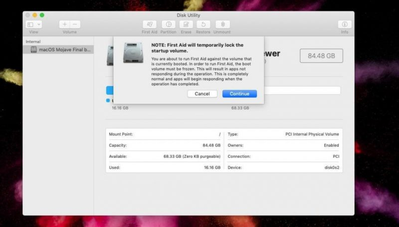 Disk Utility On Mac