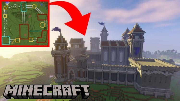 How to build a Minecraft castle